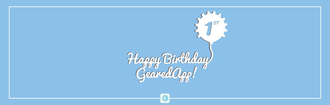 Its our birthday! We are one year old!