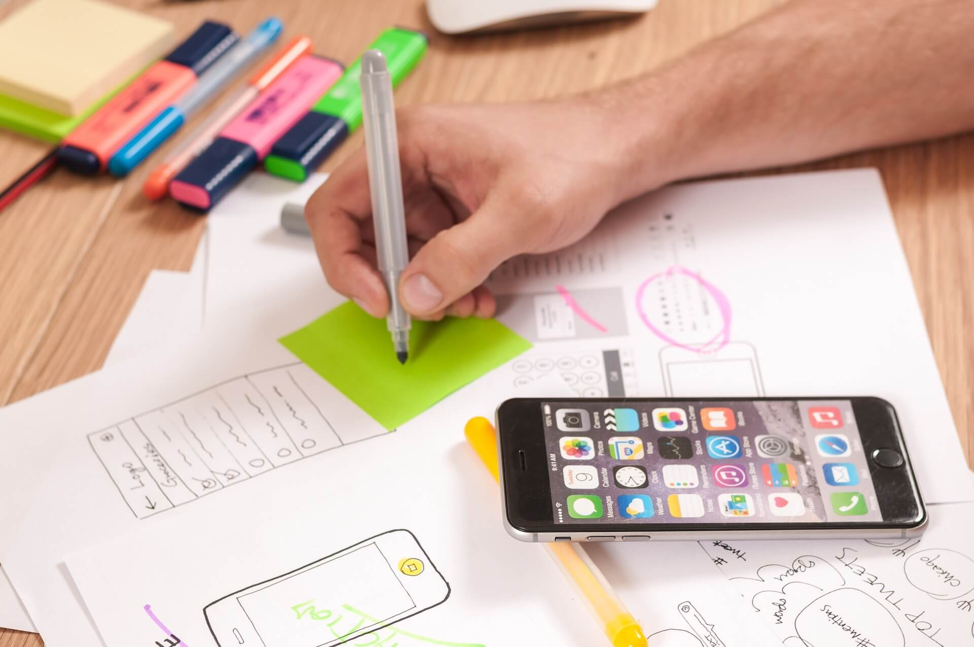 mobile application planning